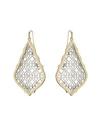 Kendra Scott | Metallic Adair Earrings | Lyst