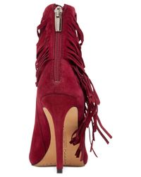 Vince Camuto | Red Ferdinand Booties | Lyst