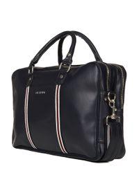 Ben Sherman - Blue Iconic Double Zip Commuter Bag for Men - Lyst
