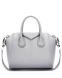 Givenchy - Gray Antigona Small Leather Tote - Lyst