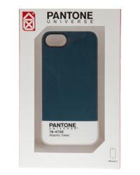 Case Scenario - Blue Pantone Universe Iphone 5 Case - Lyst