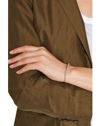 Monica Vinader - Pink Esencia Rose Gold-plated Diamond Bracelet - Lyst