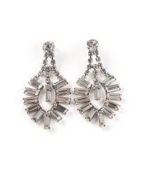 Tom Binns - Metallic Art Deco Earrings - Lyst