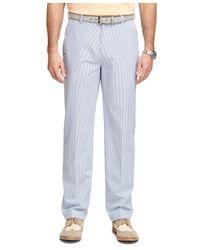 Brooks Brothers - Blue Clark Fit Seersucker Pants for Men - Lyst