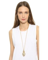Samantha Wills | Metallic Wolrd From Here Pendant Necklace - Antique Gold | Lyst