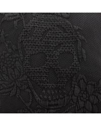 Alexander McQueen - Black Jacquard Sweatshirt for Men - Lyst