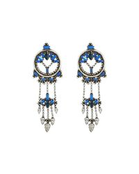 DANNIJO - Blue Claudia Earrings - Lyst