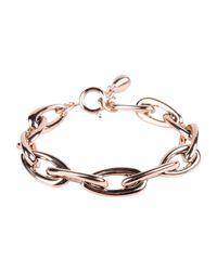 Breil - Metallic Bracelet - Lyst