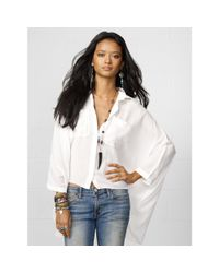 Denim & Supply Ralph Lauren - White Gauze Stevie Shirt - Lyst