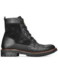 Guess | Black Reid Boots for Men | Lyst