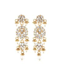 Isharya | Metallic Bling Maharani Earrings | Lyst