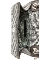 Rebecca Minkoff - Gray Quilted Mini Affair Bag Charcoal - Lyst