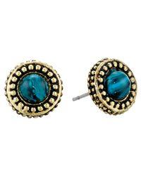 House of Harlow 1960 - Blue Cuzco Stud Earrings - Lyst