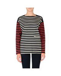 Stella McCartney - Red Stripes Long Sleeved T-Shirt - Lyst