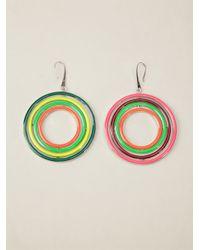 Delfina Delettrez | Multicolor Tourbillon Earring | Lyst