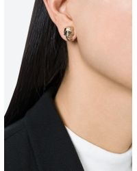 Givenchy | Metallic Skull Earrings | Lyst