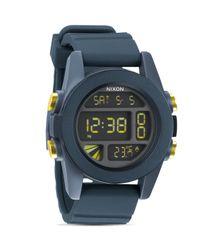 Nixon - Gray The Unit Watch, 49mm for Men - Lyst