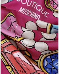 Boutique Moschino | Pink Foulard | Lyst