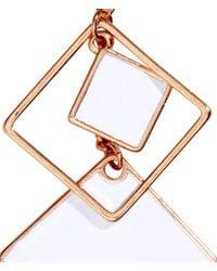 H&M   Metallic Long Earrings   Lyst