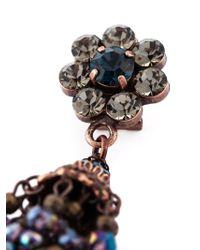 DSquared² | Multicolor Flower Earrings | Lyst
