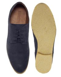 Rokin - Blue Damien Derby Shoes for Men - Lyst
