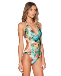 Luli Fama - Multicolor Miami Nice Swimsuit - Lyst