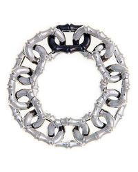 Noir Jewelry - Metallic Dinah Bamboo Link Bracelet - Lyst