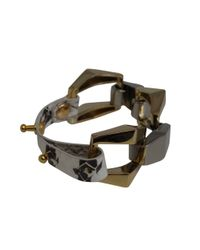 Ziba | Metallic Adonica Leather Bracelet | Lyst