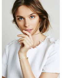 Free People | White Templestones Womens Chakra Thread Bracelet | Lyst