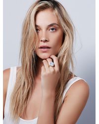 Free People - Metallic Tiger Mountain Jewelry Womens Mystic River Ring - Lyst