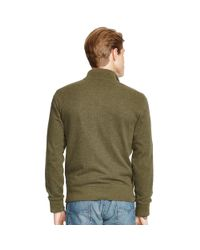 Polo Ralph Lauren | Green French-rib Full-zip Jacket for Men | Lyst