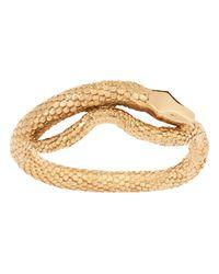Aurelie Bidermann - Metallic Tao Snake Bracelet - Lyst