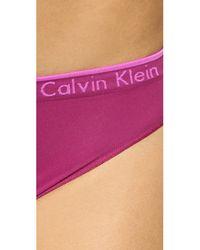 Calvin Klein | Pink Seamless Classic Bikini Briefs | Lyst