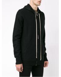 Rick Owens | Black Cashmere Hooded Sweatshirt for Men | Lyst