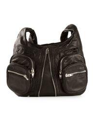 Alexander Wang | Black 'donna' Shoulder Bag | Lyst