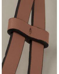 Marni - Metallic Trapeze Pendant Necklace - Lyst