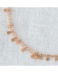 Sia Taylor | Pink 18k Rose Gold Tiny Dots Bracelet | Lyst