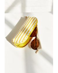 Urban Outfitters - Yellow Horizontal Striped Pouch - Lyst