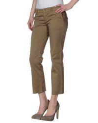 L'Autre Chose - Natural Casual Trouser - Lyst