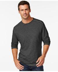 Tommy Bahama | Black Salerno Long-sleeve T-shirt for Men | Lyst