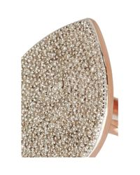 Monica Vinader - Pink Alma Rose Gold-Plated Diamond Ring - Lyst