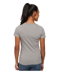 Patagonia | Gray Eagle Eye Cotton/poly T-shirt | Lyst