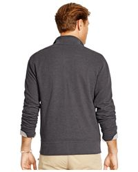 Polo Ralph Lauren | Black Big & Tall French-rib Full-zip Jacket for Men | Lyst