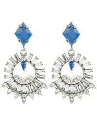 DANNIJO | Blue Avril Earrings | Lyst