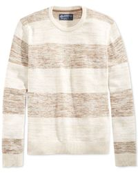 American Rag | Natural Rugby Twist Sweater for Men | Lyst