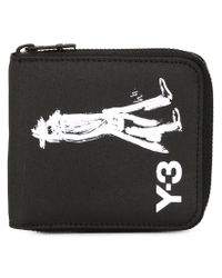 Y-3 - Black Small Yohji Wallet - Lyst