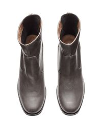 H&M - Gray Ankle Boots - Lyst