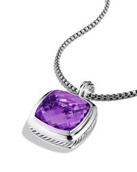 David Yurman | Metallic Albion Pendant With Amethyst | Lyst