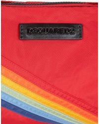 DSquared² - Red Hiro Clutch for Men - Lyst