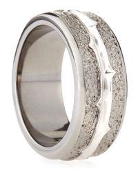 Stephen Webster - Metallic Highwayman Silver-band Ring for Men - Lyst